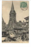 53 - HONFLEUR - Clocher De Sainte-Catherine. - LL ( Marché) - Honfleur
