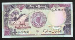 SOUDAN SUDAN P47   20   POUNDS    1991    UNC. - Soedan
