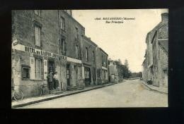 CPA 53 MEZANGERS Rue Principale Hôtel Du Dauphin   MAISON JOUVIN   Couple Vélos  N° 1808 - Frankreich