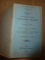 1922 Minitère De La Guerre EDUCATION ELEMENTAIRE ENFANCE Approuvé COMPLEMENT Des JEUX SCOLAIRES - Livres