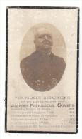 Dp.Joannes Franciscus SOMERS Rumpst 1859 Priester Mechelen Ukkel Steenhuffel 1919 - Images Religieuses
