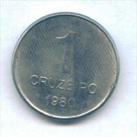 F3612 / - 1 CRUZEIRO  - 1980  -  Brazil Bresil Brasilien Brazilie - Coins Munzen Monnaies Monete - Brésil