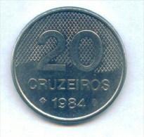 F3615 / - 20 CRUZEIROS  - 1984  -  Brazil Bresil Brasilien Brazilie - Coins Munzen Monnaies Monete - Brasilien