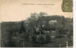 CPA 69 GRIGNY CHATEAU DES CAZARDES 1920 - Grigny
