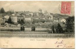 CPA 69 GRIGNY VUE PANORAMIQUE 1905 - Grigny