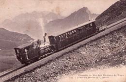 CPA  : ROCHERS De NAYE (suisse) :Chemin De Fer Des Rochers De Naye (N°5934) En 1905. (B 892) - Suiza
