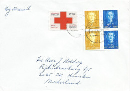 Netherlands Antilles 1991 Curacao Red Cross Henri Dunant Stamp Booklet Stamps Cover - Croix-Rouge