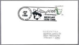 MERCURIO - MERCURY. Dearborn MI 1989 - Mythologie