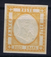 Italy Mi 6 ,Sa 22  MH/*   2 X Signed/ Signé/signiert/ Approvato - Nuevos