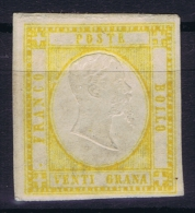 Italy Mi 7 ,Sa 23  MH/*   Signed/ Signé/signiert/ Approvato - Nuevos