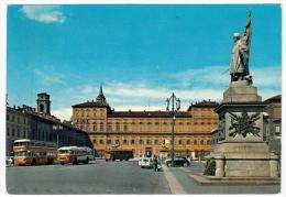 TORINO - PIAZZA CASTELLO - 1973 - BUS - AUTOBUS - Italia