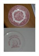 Piattino Di Porcellana Wedgwood Avon Cottage Pink - Wedgwood