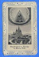 Spitzen-Heilgenbild Gnadenbild U.Kirche In Maria Zell, Um 189? - Andachtsbilder