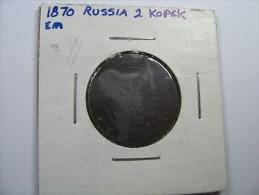 RUSSIA 2 KOPEK 1870  LOT 13 NUM  24 - Russie