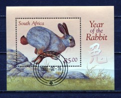 SOUTH AFRICA 1999 NEW YEAR OF THE RABBIT S/S MNH - South Africa (1961-...)