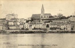 78 Conflans Sainte Honorine.Vue Panoramique, L'eglise - Conflans Saint Honorine