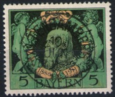 Altenbamberg 10. JUN 11 Auf 5 Pfennig Grün - Bayern Nr. 92 - Kabinett - Bavière