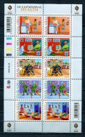SOUTH AFRICA 2009 OCCUPATIONAL HEALTH SHEETLET MNH - South Africa (1961-...)