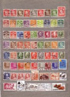 DENMARK Used Gestempelt Oblitere Different Stamps Lot #10136 - Timbres