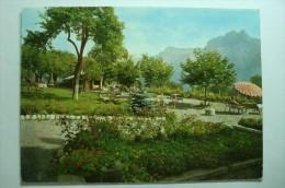 D 74 - Cordon - Hostellerie Du Mont Blanc - Le Jardin Face Aux Chaînes Du Mont Blanc Et Des Fiz - Francia