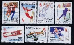 Vietnam Viet Nam MNH Perf Stamps 1991 : WInter Olympic Games - Albertville / Skating (Ms624) - Vietnam