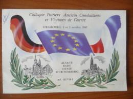 Colloque Postiers Anciens Combattants Et Victimes De Guerre (m126) - Stamps
