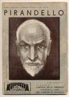 PIRANDELLO FASCICOLO UFFICIALE DI PALERMO PER LE ONORANZE 1937 - Libri Antichi