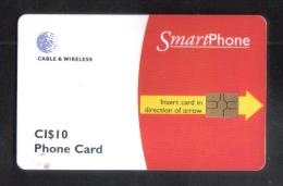 CAYMAN ISLAND - CHIP PHONECARD  - CI $10 - RARE - Cayman Islands