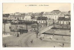 Cp, 50, Cherbourg, Le Pont Tournant - Cherbourg