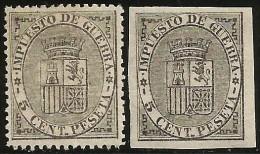 España 141F Y 141sF * Falsos Postales - Nuevos