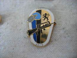 Pin´s De L'Escadron 23/9 De Gendarmerie Mobile à Chauny 02300 - Militaria