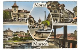 CPSM MORAT Ou MURTEN (Suisse-Fribourg) - 5 Vues - FR Fribourg