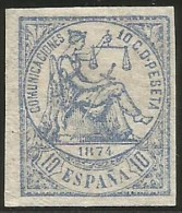 España 145sF * Falso Postal Sin Dentar - Nuevos