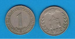 ARGELIA -  1 Dinar 1972 - Argelia