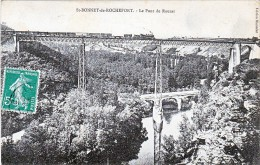 Saint Bonnet De Rochefort Pont De Rouzat Viaduc Locomotive Train - France