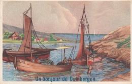 Cpa/pk 1940 Duinbergen Un Bonjour De - Knokke
