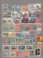 BRITISH COMMONWEALTH 50 Different Used Stamps Lot #16972 - Timbres