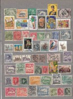 BRITISH COMMONWEALTH 55 Different Used Stamps Lot #16974 - Timbres