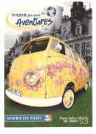 REF 174 : CPM Cart'com Paris Jeunes Bus Volkswagen Beau Plan - Camions & Poids Lourds