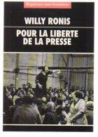 REF 174 : CPM Cart'com Reporters Sans Frontières Willy Ronis - Publicité