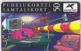 Telefonkarte Finnland 50 Einheiten, Unbenutzt, Comics, Spielschranke - Finnland