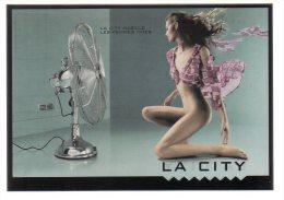 REF 174 : CPM Pin Up Pub Lingerie Femme Sexy La City - Pin-Ups
