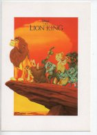 REF 174 : CPM DISNEY Le Roi Lion - Disney