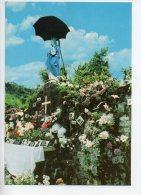 REF 174 : CPSM ILE DE LA REUNION La Vierge Au Parasol - Autres