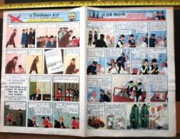 PUB PUBLICITE TINTIN AU PAYS DE L OR NOIR - Vieux Papiers