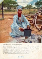 PUBBLICITARIA PRODOTTI MIDY -  NAMIBIA DAMARALAND GIOVANE DONNA DELLA TRIBU' HERERO 1955 - Namibia