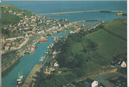 PORT EN BESSIN - Vue Générale - Le Port Et La Criée - Francia
