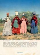 PUBBLICITARIA PRODOTTI MIDY -  NAMIBIA DAMARALAND GRUPPO DI DONNE DELLA TRIBU' HERERO 1955 - Namibia