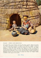 PUBBLICITARIA PRODOTTI MIDY -  SUD AFRICA ZULULAND UNA MADRE ZULU' COL SUO BIMBO 1956 - Namibia