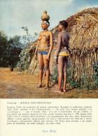 PUBBLICITARIA PRODOTTI MIDY -  SUD AFRICA ZULULAND RAGAZZE ZULU´ CON PERIZOMI DI PERLINE 1956 - Namibia
